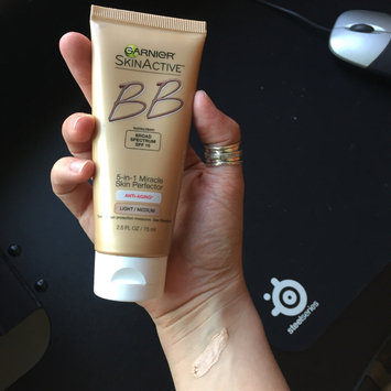 Photo of Garnier SkinActive 5-in-1 Miracle Skin Perfector Oil-Free BB Cream uploaded by Jupiter C.