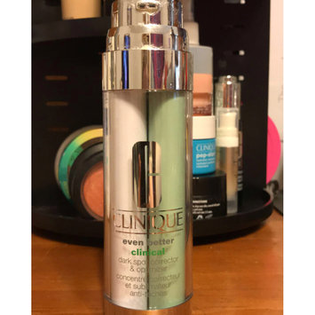 Photo of Clinique Even Better Clinical™ Dark Spot Corrector & Optimizer uploaded by hadley k.