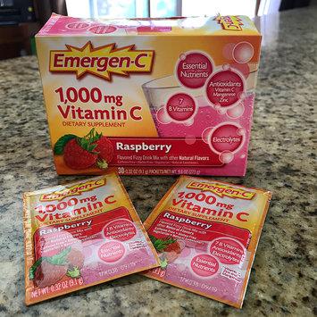 Photo of Emergen-C 1,000 mg Vitamin C Raspberry uploaded by Nicole Z.