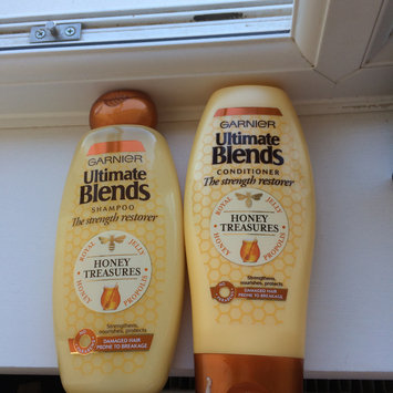 Photo of Garnier Whole Blends™ Honey Treasures Repairing Shampoo uploaded by Lucy C.