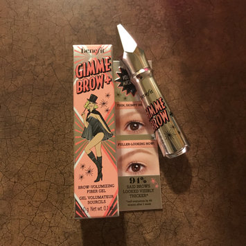Photo of Benefit Cosmetics Gimme Brow Volumizing Eyebrow Gel uploaded by Skyla M.