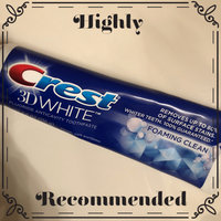 Crest 3D White Foaming Clean Toothpaste uploaded by Wendy C.