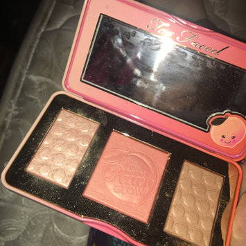 Photo of Too Faced Sweet Peach Glow Infused Highlighting Palette uploaded by Amber C.