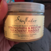 SheaMoisture Jamaican Black Castor Oil Strengthen Grow & Restore Treatment Masque uploaded by Amanda💋 M.