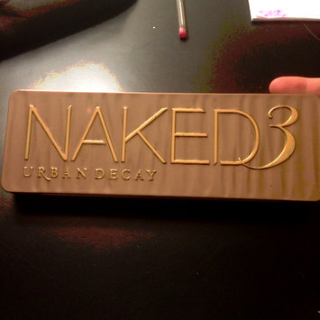 Photo of Urban Decay Naked3 Eyeshadow Palette uploaded by angie G.