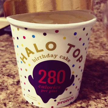 Photo of Halo Top Birthday Cake Ice Cream uploaded by Kimberly P.