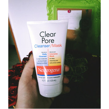 Photo of Neutrogena®  Clear Pore Cleanser/Mask uploaded by Barbara V.