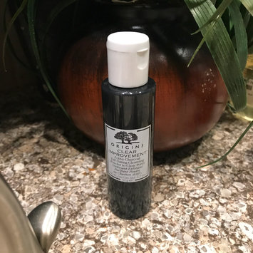 Photo of Origins Clear Improvement Active Charcoal Exfoliating Cleansing Powder to Clear Pores uploaded by Mura C.