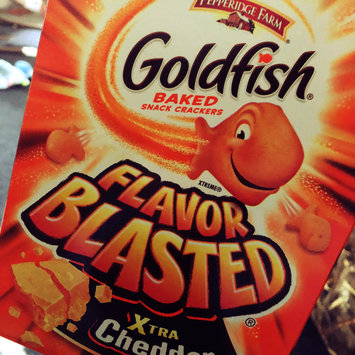 Photo of Goldfish® Flavor Blasted Xtra Cheddar Baked Snack Crackers uploaded by Shawna T.