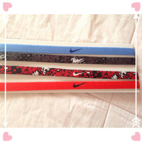 Nike - Nike Printed Headbands Assorted 6 Packs (Black/White) - Accessories uploaded by Ercilia Z.