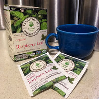 Traditional Medicinals Organic Raspberry Leaf Herbal Supplement Tea, 16 count, .85 oz, (Pack of 3) uploaded by Rebecca S.