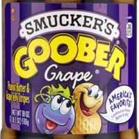 Smucker's Goober Peanut Butter & Grape Jelly Stripes uploaded by Lacey A.