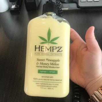 Photo of Hempz Sweet Pineapple & Honey Melon Moisturizer uploaded by Dulce M.