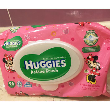 Photo of Huggies® Natural Baby Care Wipes uploaded by Ercilia Z.