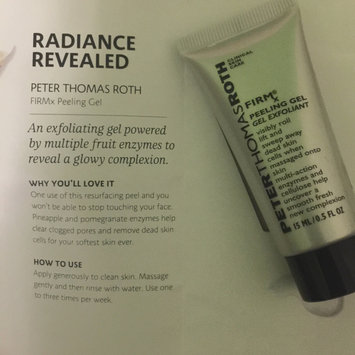 Photo of Peter Thomas Roth FIRMx Peeling Gel uploaded by Mariam H.