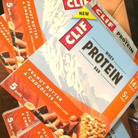 Clif® Peanut Butter & Chocolate Whey Protein Bar 1.98 oz. Wrapper uploaded by Allison V.