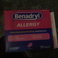 BENADRYL® Allergy ULTRATAB® Tablets uploaded by Melaney M.