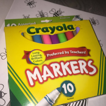 Photo of Crayola 10ct Broad Markers - Assorted Colors uploaded by Chakirah K.