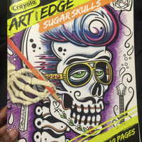 Crayola Art with Edge Sugar Skulls Collection Coloring Pages uploaded by Chakirah K.