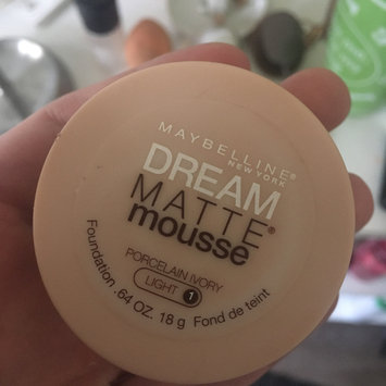Photo of Maybelline Dream Matte® Mousse Foundation uploaded by Tashia P.