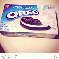 Nabisco Oreo Sandwich Cookies White Fudge uploaded by Alisa S.