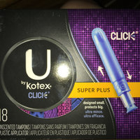 U by Kotex Click Unscented Tampons uploaded by Gates S.