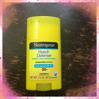 Neutrogena® Beach Defense® Water + Sun Protection Sunscreen Stick Broad Spectrum SPF 50+ uploaded by Ariel R.