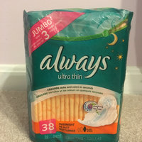 Always Ultra Thin Fresh Size 2 Long Super Pads With Wings Scented uploaded by Anna K.