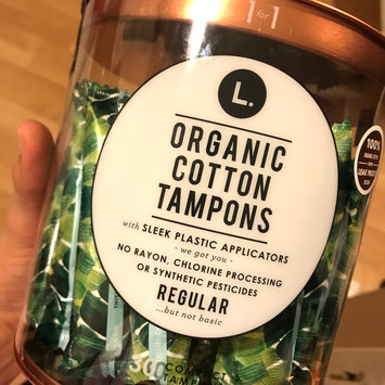 Photo of L Organic Cotton Regular Compact Tampons - 30 Count uploaded by Audrey Z.