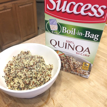 Photo of Success® Boil-in-Bag Tri-Color Quinoa 12 oz. Box uploaded by Angie B.