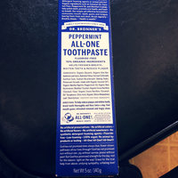 Dr. Bronner's Peppermint All-One Toothpaste uploaded by Alake D.