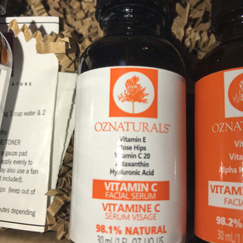 Photo of OZ Naturals- THE BEST Vitamin C Serum For Your Face Contains Clinical Strength 20% Vitamin C + Hyaluronic Acid Anti Wrinkle Anti Aging Serum For A Radiant & More Youthful Glow! Guaranteed The Best! (Packaging May Vary) uploaded by Dua'a J.