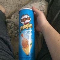 Pringles® Cheddar & Sour Cream Potato Crisps uploaded by Miranda N.