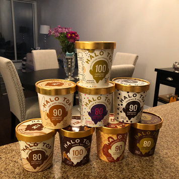 Photo of Halo Top Birthday Cake Ice Cream uploaded by Melissa D.