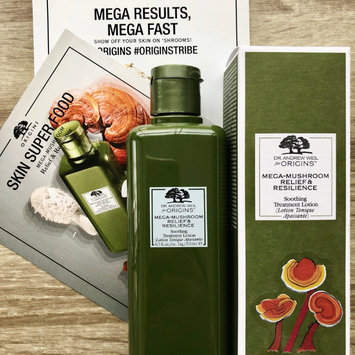 Photo of Origins Dr. Andrew Weil For Origins™ Mega-Mushroom Relief & Resilience Soothing Treatment Lotion uploaded by Julia D.