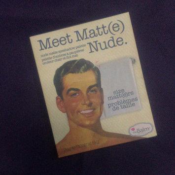 Photo of theBalm Meet Matt(e) Nude® Nude Matte Eyeshadow Palette uploaded by Dodi T.