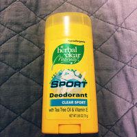 Herbal Clear Deodorant Stick, Sport 2.65 oz uploaded by Alake T.