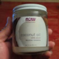 NOW Foods - Coconut Oil 100 Natural - 7 oz. uploaded by Sarah M.