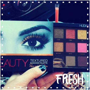 Photo of Huda Beauty Textured Eyeshadows Palette Rose Gold Edition uploaded by Shahad M.