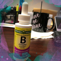 Spring Valley Dietary Supplement B Complex Sublingual Liquid uploaded by Katie S.
