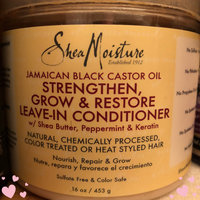 SheaMoisture Jamaican Black Castor Oil Strengthen, Grow & Restore Leave-In Conditioner uploaded by Wendy C.