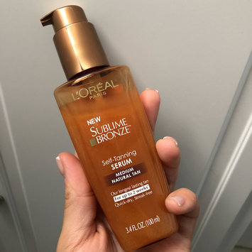 Photo of L'Oréal Paris Sublime Bronze Self-Tanning Serum uploaded by Gina A.