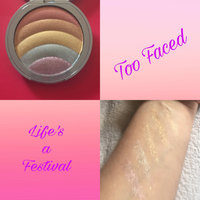 Too Faced Rainbow Strobe Highlighter - Life's A Festival Collection uploaded by Lavieenrose T.