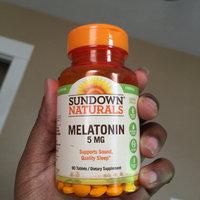 Sundown Naturals Melatonin 5mg Extra Strength uploaded by Chakirah K.