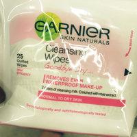 Garnier Skin Naturals Goodbye Dry Cleansing Wipes uploaded by Zaira G.