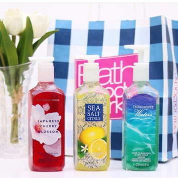 Photo of Bath & Body Works Bath and Body Works Anti-bacterial Hand Sanitizer Summer Escape 7.6 Fl Oz uploaded by Tuberose B.