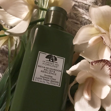 Photo of Origins Dr. Andrew Weil For Origins™ Mega-Mushroom Relief & Resilience Soothing Treatment Lotion uploaded by Deanna M.