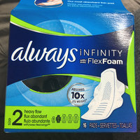 Always Infinity Size 2 Super Pads Non-Wings Unscented uploaded by Meaghan B.
