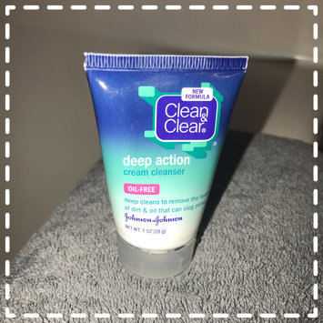 Photo of Clean & Clear® Deep Action Cream Cleanser uploaded by Schyvanda B.