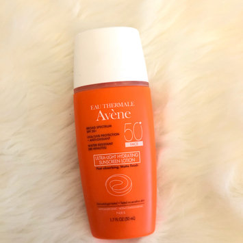 Photo of Avene Ultra-Light Hydrating Sunscreen Lotion, Face SPF 50+, 1.3 oz uploaded by Yahaira M.